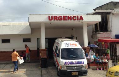 La mujer fue trasladada al Hospital Niño Jesús.