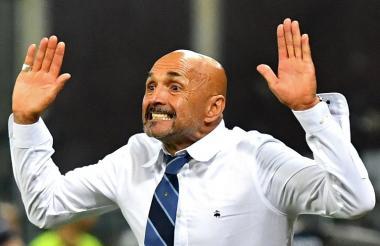 Luciano Spalletti, técnico del Inter de Milan.