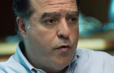 Julio Borges, líder opositor venezolano.