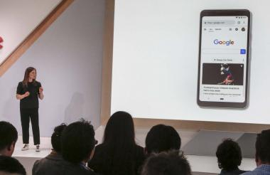 Emily Moxley, directora de productos de búsqueda de Google.