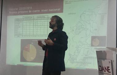 Juan Danuel Oviedo, director del Departamento Nacional de Estadísticas (Dane).