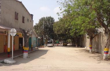 Sector del barrio El Paraiso, por donde se registraron los hechos.