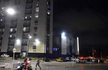 Fachada del Hospital Metropolitano.