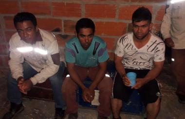 Contratistas liberados por militares de la Brigada.