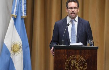 El presidente del Banco Central de Argentina, Guido Sandleris.