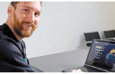 Lionel Messi hace parte del negocio de las criptomonedas.