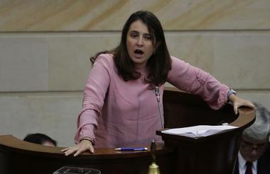 Paloma Valencia, Senadora.