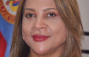 Noralit Barliza Freyle, directora de la Oficina de Pasaportes.