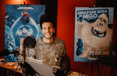 El cantante paisa Sebastián Yatra interpreta a Migo en 'Pie Pequeño'.