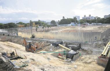 Ya se iniciaron los trabajos de ampliación de la Plaza de la Paz.