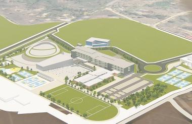 Así lucirá la nueva sede de la Universidad del Atlántico en el municipio de Sabanalarga.