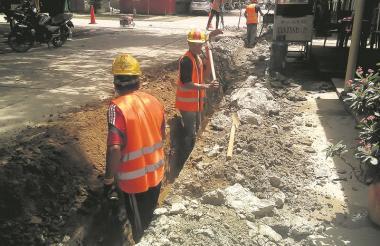 En el municipio de Majagual, en la subregión Mojana, también realizan reposición de redes.