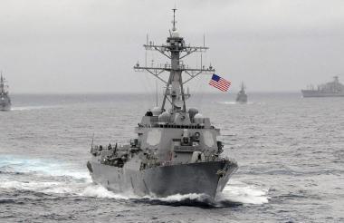Barco de guerra.