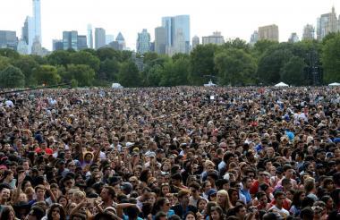 Festival Global Citizen en Nueva York.