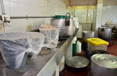 Cocina de la cárcel judicial de Valledupar.