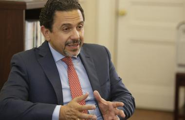 Miguel Ceballos Arévalo, alto comisionado para la Paz en el Gobierno.
