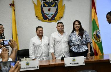 Nueva mesa directiva del Concejo Distrital para la vigencia 2019.