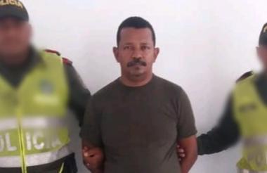 Adolfo Arrieta García cuando fue capturado.