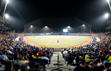 El estadio de béisbol Édgar Rentería es uno de los escenarios deportivos construidos por la administración distrital.