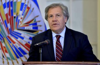 Luis Almagro, secretario de la OEA.