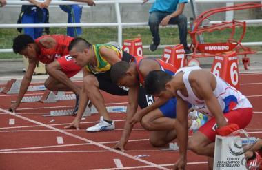 El atletismo será uno de los deportes en competencia.