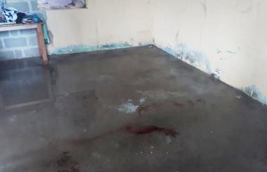 Lugar donde se registró el homicidio.
