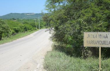 Sector de Juan Mina donde ocurrió el caso.