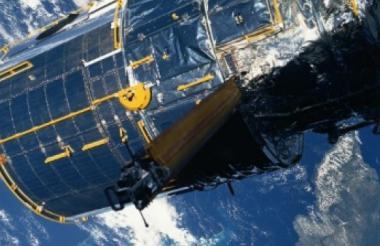 Imagen del telescopio espacial Hubble, en órbita desde 1990.