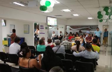 Oficinas de la Dian en Barranquilla.