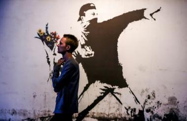 Exposición del artista británico Banksy.