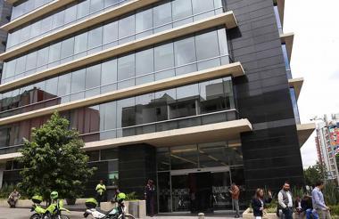 Edificio de la JEP.