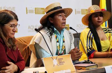 Bancada indígena.