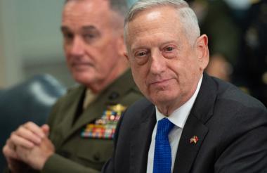 Jim Mattis, ministro de Defensa.
