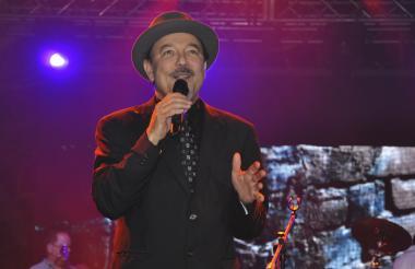 El cantante panameño Rubén Blades.