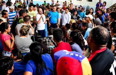 Registro de venezolanos en días pasados en B/quilla.