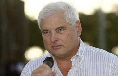 El expresidente de Panamá, Ricardo Martinelli.
