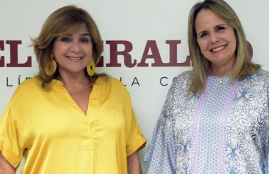 Beatriz Orozco y María Clara Díaz Granados.