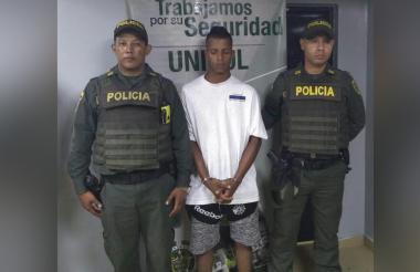 Devanis Antonio García De la Rosa, alias 'Chopito', capturado.