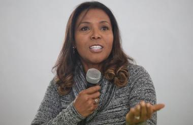 Carmen Vásquez Camacho, ministra de Cultura, estará esta noche en el Consejo Nacional de Economía Naranja.