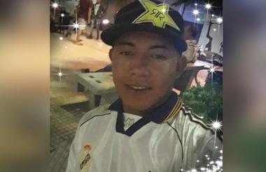 Brayan Olivera, asesinado.