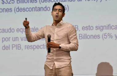 El viceministro técnico del MinHacienda, Luis Alberto Rodríguez Ospino.