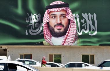 Mohamed ben Salmán, príncipe heredero saudí.