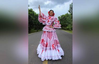 Reina de Santo Tomás, Marluz Acosta Pertúz.