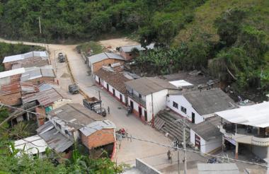 Panorámica del municipio de Hacarí.