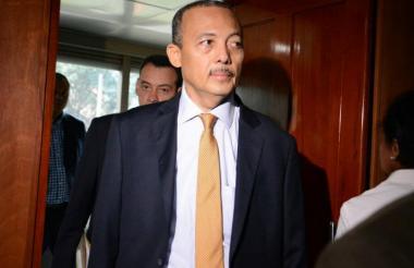 El gobernador de La Guajira Wilmer González.