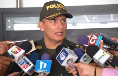 Mariano Botero Coy, comandante de la Policía.