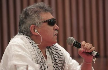 Seuxis Paucias Hernández más conocido como 'Jesús Santrich'.