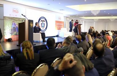 'Ocadtón' del Departamento Nacional de Planeación, DNP, con la presencia del presidente Iván Duque.