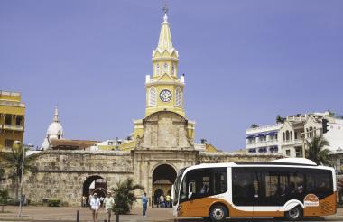 En Cartagena están operando buses de Transcaribe 100% con gas natural.