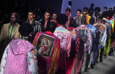 Desfile del diseñador Joao Pimenta.